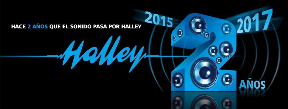 Halley 2 años