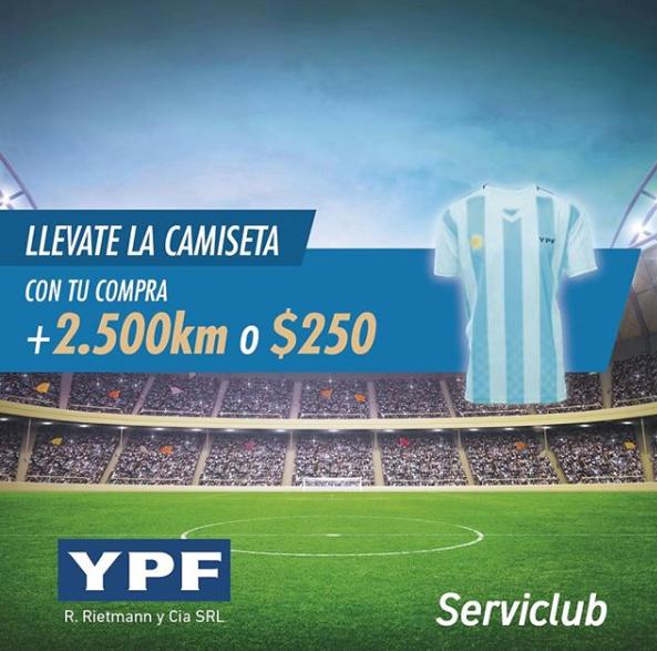 YPF camsieta